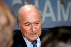 FIFA's President, Sepp Blatter. Source: The Sport Review, CreativeCommons.