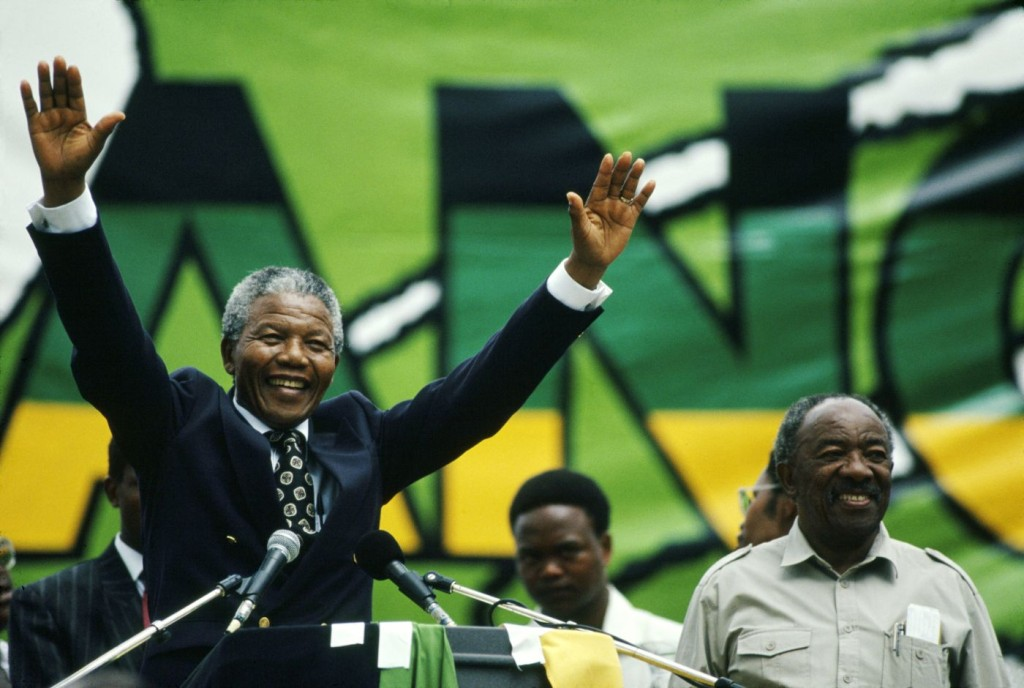Nelson Mandela, 1918-2013 (Source: The Nelson Mandela Foundation)