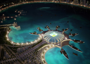 Doha Port Stadium in Doha. Source: Kashif Pathan, CreativeCommons