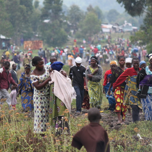 Hundreds of people continue to arrive each day in Kibati. 2 million people are now displaced across the DRC; the highest figure the country has seen since 2009.   (see blog, we do not dare to go home)