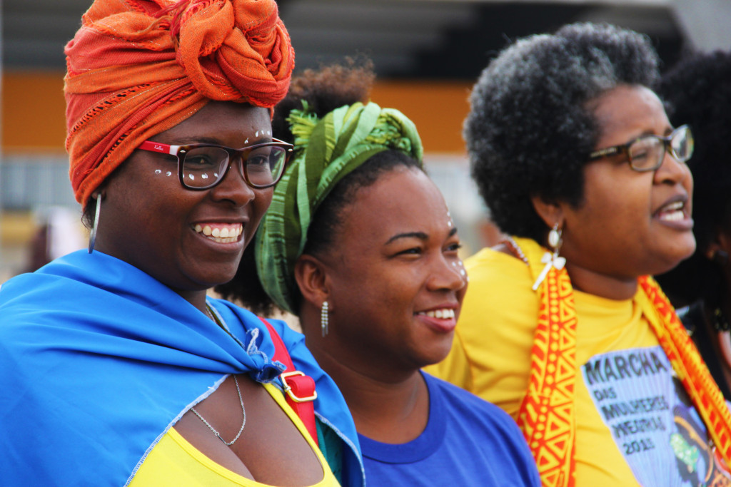 #orangetheworld - Brazil - Black Women's March against Racism and Violence Source: UNDP/Tiago Zenero, Creative Commons