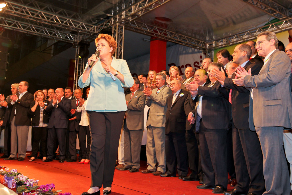 13/07/2010. Bras'lia - DF. Inaugura‹o do Comit Presidente Dilma. Source: Roberto Stuckert Filho, Creative Commons