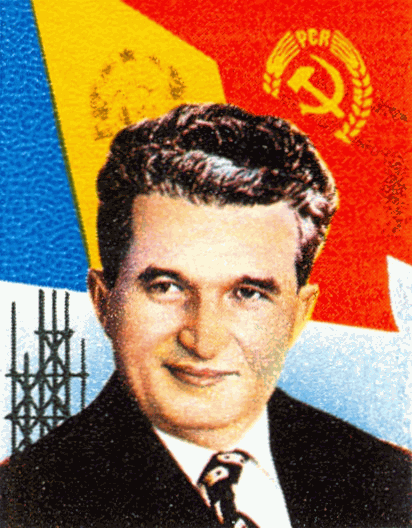 Nicolae Ceausescu, the General Secretary of the Romanian Communist Party and head of state. He was executed by firing squad in 1989.