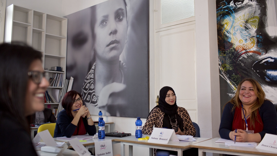 Organizations such as Aswat Nissa's academy in Tunisia sprang up after the Arab Spring. Aswat Nissa in particular helps prepare women for careers in politics.